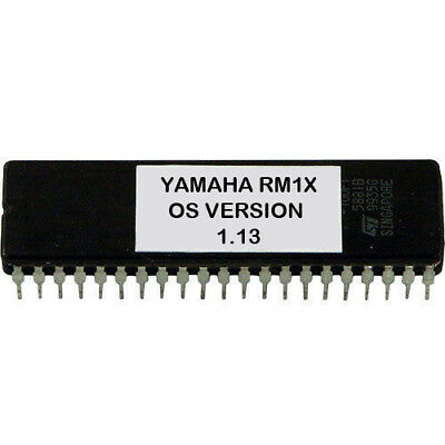 Yamaha RM1X version 1.13 firmware Latest OS update upgrade EPROM