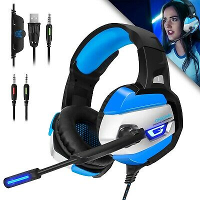ONIKUMA K5 Stereo Gaming Headsets Headphones for PS4 New Xbox One PC with Mic