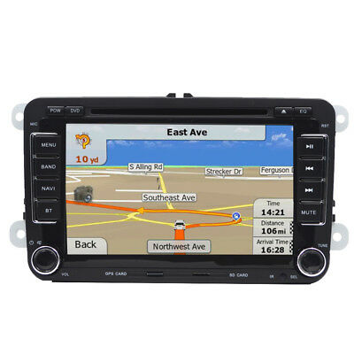 "VW Golf 5 2Din 7"" AUTORADIO STEREO NAVIGATORE SATELLITARE BLUETOOTH IPOD USB GPS"