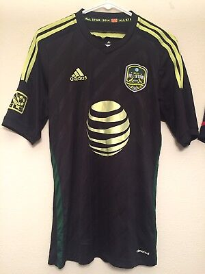c312a5ce2 2015 MENS MEDIUM Replica MLS All-Star Jersey w  Authentic Badges ...