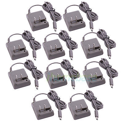 10x Plug Home Travel Wall Power Charger AC Adapter For Nintendo DS Lite DSL NDSL