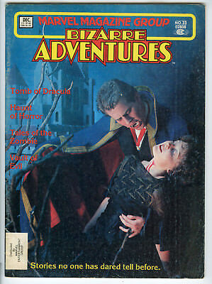 Bizarre Adventures #33 1982 VF - Tomb of Dracula by Bissette and Totleben