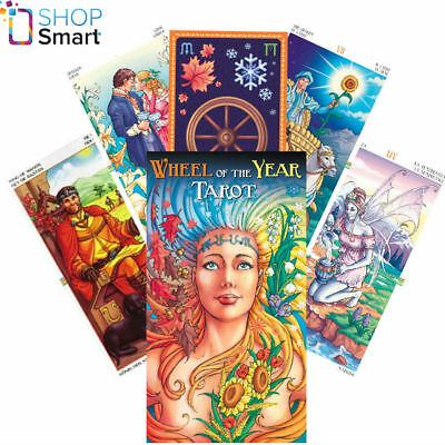 Wheel Of The Year Tarot Deck Cards Platano Esoteric Fortune Telling Lo Scarabeo