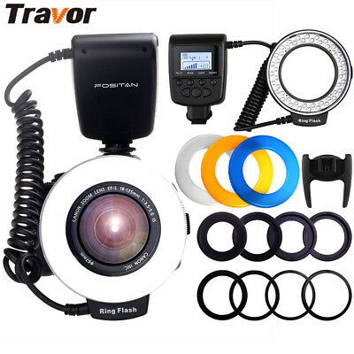 RF-550D Spedlight Macro Ring Flash Light for Nikon Canon Pentax Olympus Camera