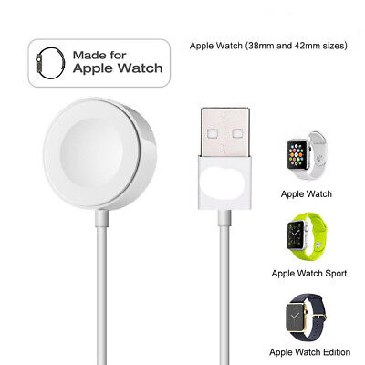 2M Magnetic Charger Charging Cable for iWatch 42 & 38mm Apple Watch Series 1 2 3