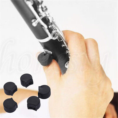 5/10x Finger Cover Rubber Clarinet Thumb Rest Cushion Finger Protector Comforter