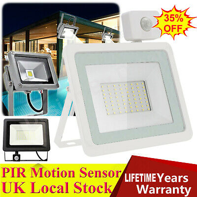 PIR LED Motion Sensor Security Outside Wall Light Outdoor Flood Light Floodlight