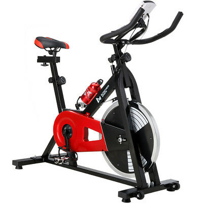 Flywheel 18KG Spin Exercise Cycle Gym Fitness Home Cardio Machine Training Bike