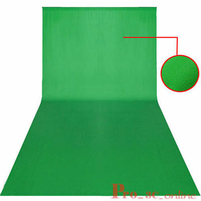 3m x 6m Green Screen Chroma Key Backdrop Background Photographic Studio Props