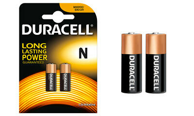 Duracell Alkaline Battery 1.5V  Specialty Type N Pack of 2 Long Lasting Power