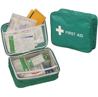 Vehicle First Aid Kit in Nylon Case - Car Bus Taxi Caravan Camper Travelling
