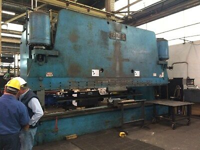 500 Ton Pacific Hydraulic Press brake 21'