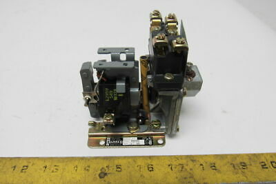 Square D Class 9050 Type A01OD Pneumatic Timing Relay 110V Coil 50/60Hz