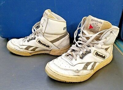 87d9ed3046b VINTAGE 80 S REEBOK Classic High Tops White Men s US Size 8 -  39.99 ...