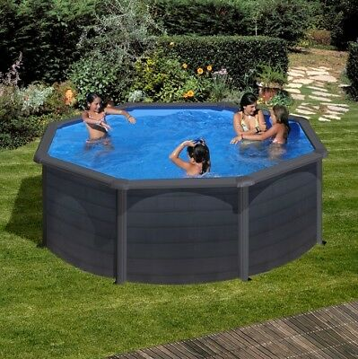 aqua world above ground x oval swimming pool 1 picclick uk. Black Bedroom Furniture Sets. Home Design Ideas