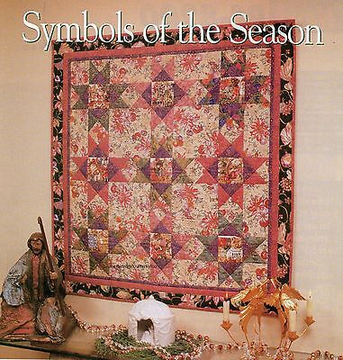 Symbols Of The Season Quilt Pattern Pieced CA