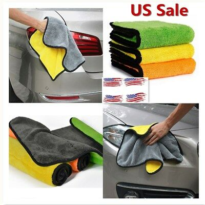 38*45cm Super Absorbent Car Cleaning Towel Wiping Cloth Car Care Coral Velvet
