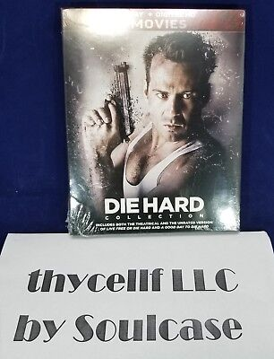 New Die Hard 5-Movie Collection Blu-ray Box Set includes Digital HD