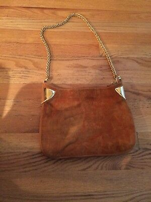 526a7b938341 Flash Sale: BEAUTIFUL GUCCI Vintage Rust Suede Hobo Bag. Very rare!