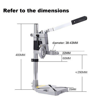 Bench 1pc Drill Holder Workbench Adjustable Drill Stand Clamp Bench Press Stand