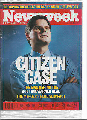Newsweek CITIZEN CASE ,AOL, CHECHNYA:THE REBELS HIT BACK, DIGITAL HOLLYWOOD 2000