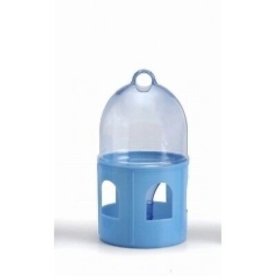 Pigeon Supplies - Drinker/Feeder for pigeons - 0.85L Plastic Drinker with ring