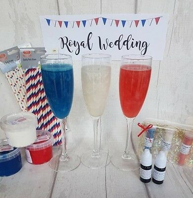 Royal Wedding Party and Cake supplies