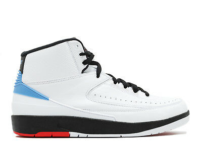2017 Air Jordan 2 Retro UNC II ONLY 917360-105 NEW BLUE WHITE Converse Pack