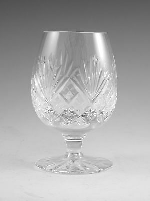 "Royal DOULTON Crystal - JUNO Cut - Small Brandy Glass / Glasses - 4"" (1st)"
