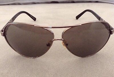 5b1dc76f15bc Cole Haan Aviator C711 30 Sunglasses Metal Frame 62/10 135 Dark Metalic