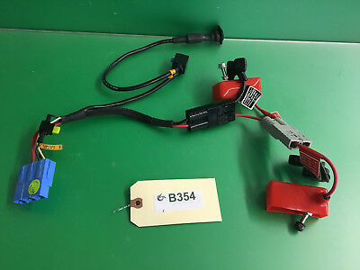 Battery Wiring Harness Invacare Pronto M91 Sure Step Power Wheelchair  #B354