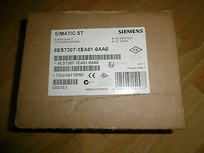 Siemens Simatic S7 Power Supply 6Es7 307-1Ea01-0Aa0 Neu