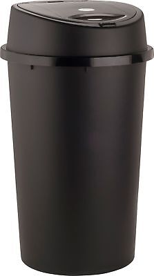 45L All Black Touch Top Bin / Dustbin / Rubbish Bin / Kitchen / Home / Plastic.