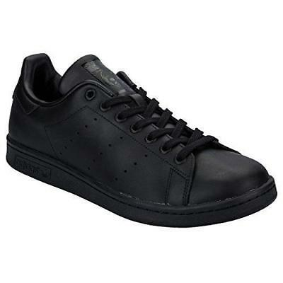 ADIDAS ADULTE UNISEXE STAN SMITH NOIR Baskets Low-Top
