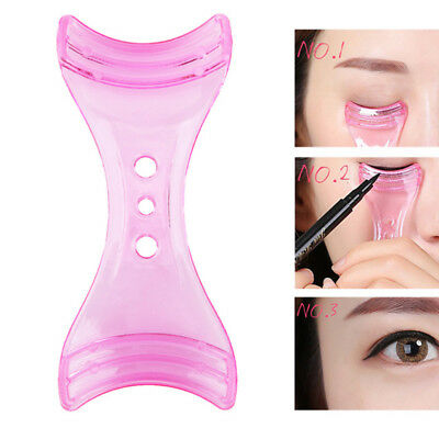 Trendy Mascara Shield Guard Eyelash Applicator Eyeliner Guide Card Makeup Tool