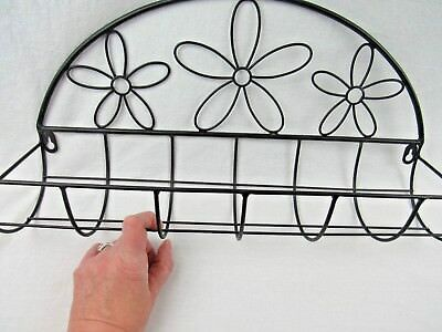 Wall Mounted Metal Planter Flowers Herbs Deer Park Iron Works New
