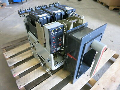 GE AKR-7D-50 1600 Amp RMS-9 MicroVersaTrip TS20LSGT2 M/O w 1600A Rating Plug A
