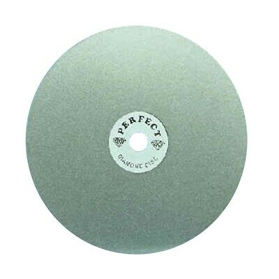 "BUTW 8"" x  400  grit Sachi Perfect diamond lapidary faceting flat lap"