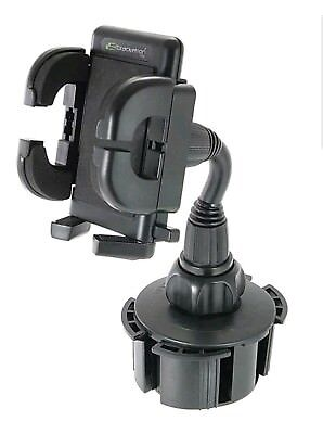Bracketron Universal Cup-iT Cup Holder Mount for Smartphones/GPS -Black UCH101BL