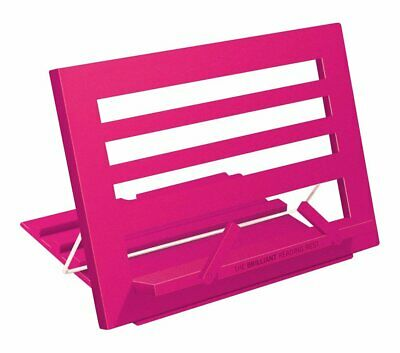 Brilliant Recipe Book Reading Rest Folding Stand Holder - Hot Pink