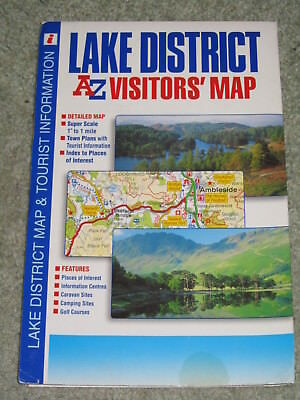 Lake District Visitors' Map by Geographers' A-Z Map Co (Sheet map, folded, 2003)