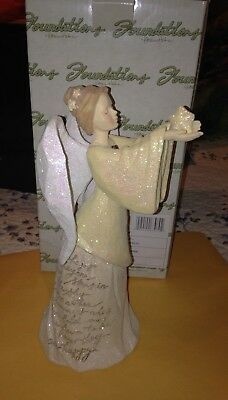 Ceramic Remembrance Angel Brand New in Box In Memory Of Loved Ones with saying