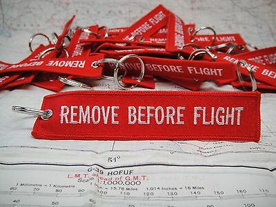 Remove Before Flight Keychain 5 Pack-Great for your Porsche 911, GSXR or Pilots