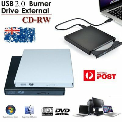 NEW USB 2.0 External CD±RW DVD±RW DVD-RAM Burner Drive Writer For PC Mac Laptop