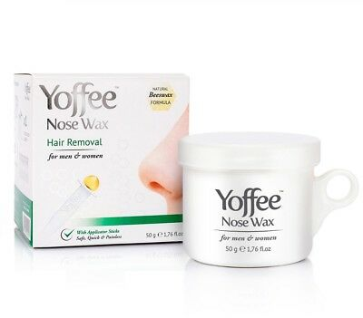 Yoffee Nose Wax 50g – Kit d'épilation du Nez à la Cire d'Abeille Naturel