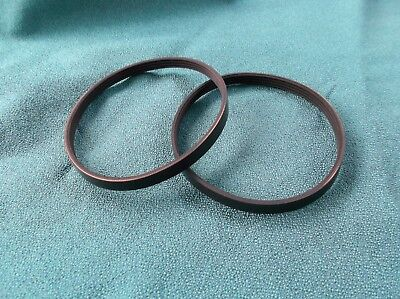 2 New Drive Belts For Rikon Band Saw Model 10-305 Band Saw Made In The Usa