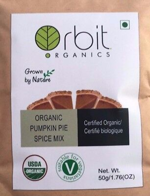 Pumpkin Pie Spice Mix - Certified Organic 50g