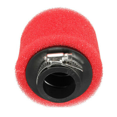 Racing Motorcycle Scooter  Dirt Pit Air Filter ATV For GY6 50cc 42mm red