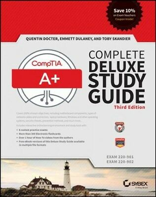 Comptia A+ Complete : Exams 220-901 / Exam 220-902, Hardcover by Docter, Quen...