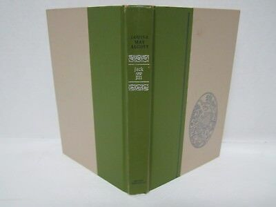 1956 Jack and Jill - A Village Story - Louisa May Alcott Vintage Hardcover Book